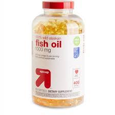 100% <b>Wild Alaskan Fish Oil</b> Dietary Supplement Softgels - 400ct ...