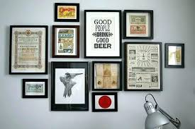 picture frames on wall. Wall Photo Frames Decorative Art Designs Posters Pertaining To Prepare Photos . Picture On