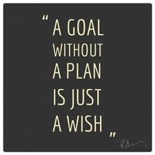 Wish Quotes Best A Goal Without A Plan Is Just A Wish
