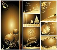 free beautiful christmas cards free beautiful gold christmas card clipart and vector graphics