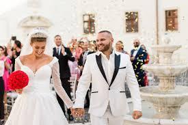 Rozprávková Svadba Vo Fashion štýle Jasminy A Rytmusa Na Zámku Nové