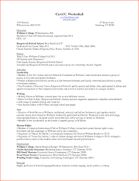 College Freshman Resume College Freshman Resume And Get