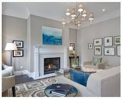 Love these warm, light grey walls. Paint color: Benjamin Moore Abalone