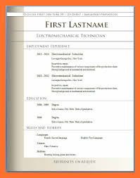 Sample Resume Format Pdf Classy R Great Resumes Free Download Pdf Format Reference Of Sample