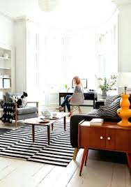 black and white living room rugs carpet graphic brilliant striped rug along with 11