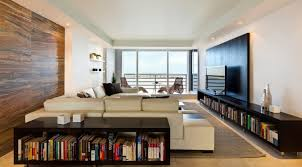 cool apartment living room ideas with cream fabric