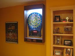 picture of dart board laser line