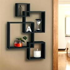 impressive design intersecting wall shelves interlocking wall shelves interlocking shelves intersecting squares floating shelf wall mounted