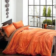 orange and brown comforter burnt orange queen blanket solid two color orange and brown velvet 4
