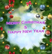 merry christmas and happy new year gif. Christmas Gifs Animation Intended Merry And Happy New Year Gif Greetingsdaycom