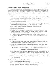 Engineering Technical Report Template