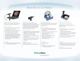 Welch Allyn <b>Ear Care</b> Products, Comparison Sheet