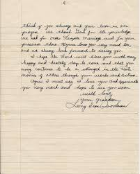 1958 June 22 Larry letter to Grandma page 4