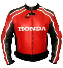 honda leather racing jacket top rider