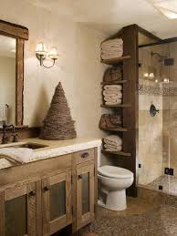 Rustic Bathroom Design Custom Ideas