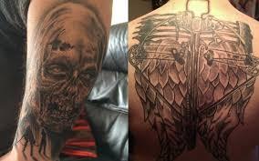 The Best The Walking Dead Inspired Fan Tattoos Fan Fest For