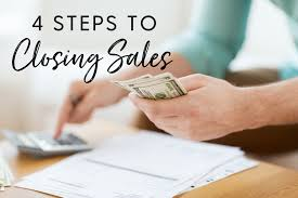 4 Steps To Closing A Sale Susie Carder Profit Coach Creator Of