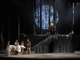 Into The Woods Set Design Broadway