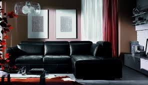 decor arrangement moder leather sectional furniture rug gray room lar living ideas red couch feng and