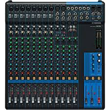 yamaha mixer. yamaha mg16 16-channel mixer with compression musician\u0027s friend