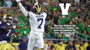Michigan Football Scholarship Chart Michigan Podcast 071 Projecting Michigans 2019 Football Roster