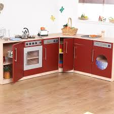 Childrens Wooden Kitchen Furniture Buy Premier Role Play Wooden Kitchen Range Tts