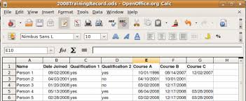 Excel Training Record Template Mexhardware Com