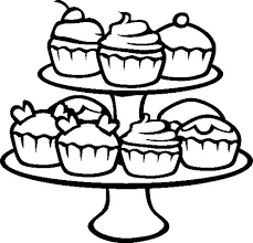 Small Picture Coloring Print Cute Cupcake Coloring Pages New In Model Gallery