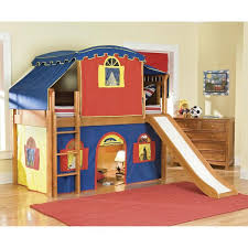 bunk bed with slide and tent. Attractive Boys Loft Bed With Slide 1 Wonderful 24 Best Beds Tent . Office Captivating Bunk And
