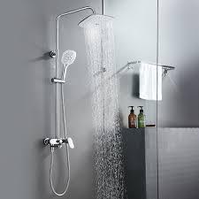 Details Zu Edelstahl Duschgarnitur Regendusche Duschset Handbrause Duschstange Duschsäule