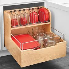 pull out storage bins. Plain Pull RevAShelf 4FSCO Food Storage Container Pullout Organizer In Pull Out Bins D