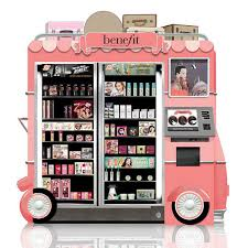 Benefits Of Vending Machines New Beauty Vending Machine Kiosks At The Airport InStyle