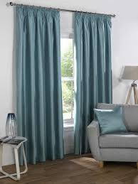 pretty design ideas faux silk curtains eyelet duck egg flowers and beauty