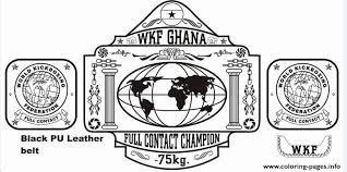 Small Picture wkg ghana wwe championship belt Coloring pages Printable