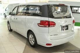front rear fog lamps chrome accents 16 inch alloy wheels with optional 18 inch ones as denoted by the variants and two sliding rear doors
