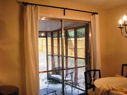 sliding door curtain ideas with thermal curtain panels for sliding glass doors umiddot