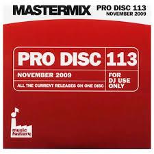 November 2009 Music Charts Mastermix Pro Disc 113 November 2009