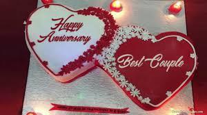 Happy Anniversary Cake Images Whatsapp Status And Wishes Youtube