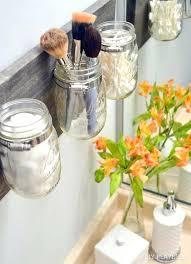 bathroom decor ideas for s mason jar organizer best creative cool bath craft decoration ganpati at