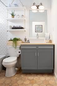 Lowes Bathroom Shelves Amber Interiors X Lowes Blogger Vs Builder Grade Bath Lowes