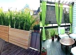patio privacy screen ideas deck balcony outdoor for decks pools b