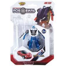 <b>Игрушка детская</b> Трансформер РобоБиль 2в1 CRD M6687-1 ...