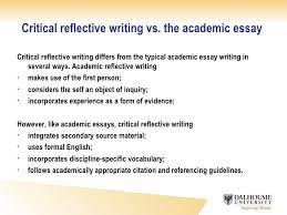 reflective essay definition and exa