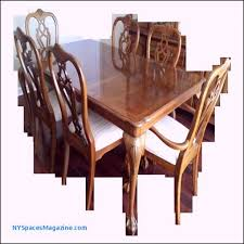 elegant dining table with black leather chairs luxury fresh round center table new york es magazine