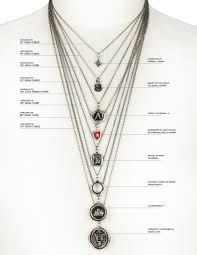 Jewelry Length Chart Size Chart Pyrrha