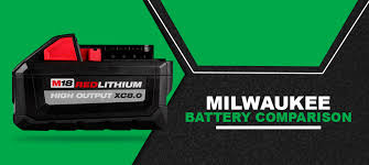 Milwaukee Battery Comparison Milwaukee M12 M18 Fuel