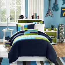 this is the related images of blue and white bedroom