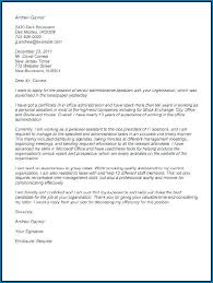 Administrative Cover Letter Example Senior Administrative Assistant Cover Letter 211