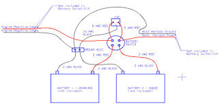 voltage sensitive relay in two battery wiring diagram gooddy org perko battery switch wiring at Two Battery Boat Wiring Diagram