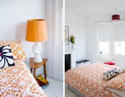 Orange Accessories For Bedroom How To Create A Unified Space With Pattern Amberth Interior